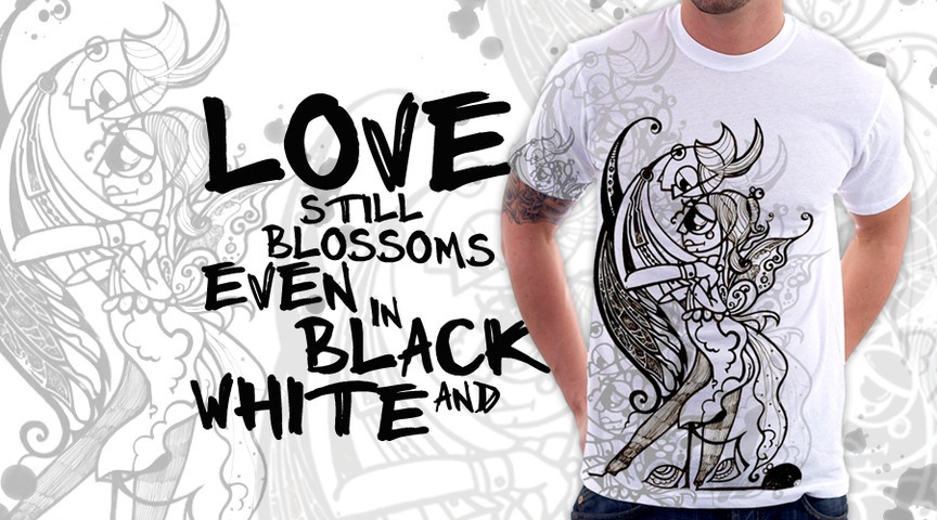 Love still Blossoms even in black and white.part 2