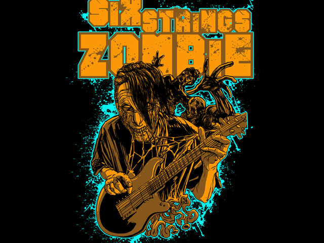 six strings zombie