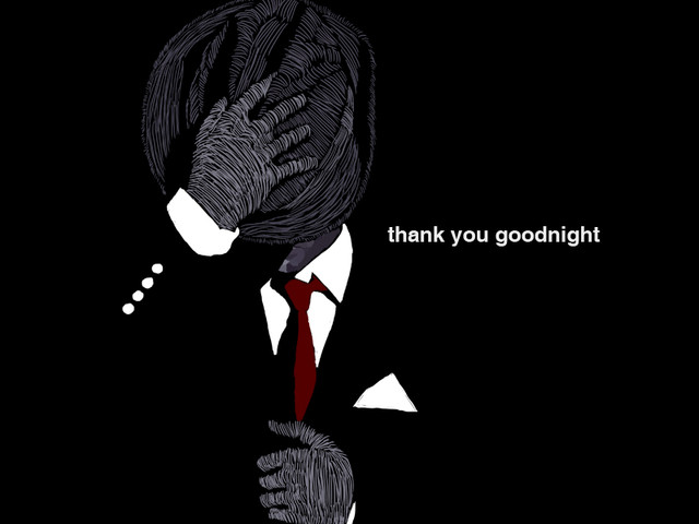 thank you goodnight
