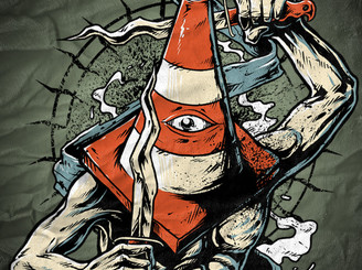 traffic cone holy heroes by sweetsbrutal