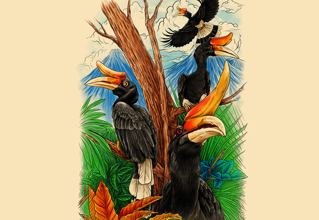 The Great Hornbills