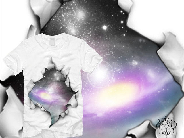 black hole on your t-shirt