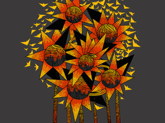 sunflowers by johniS