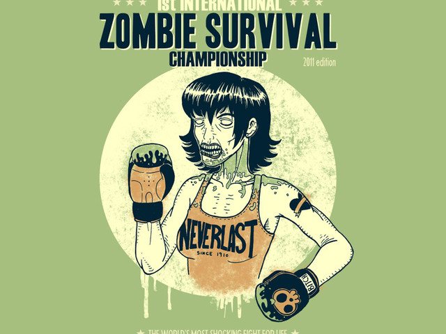 1st International Zombie Survival Championship