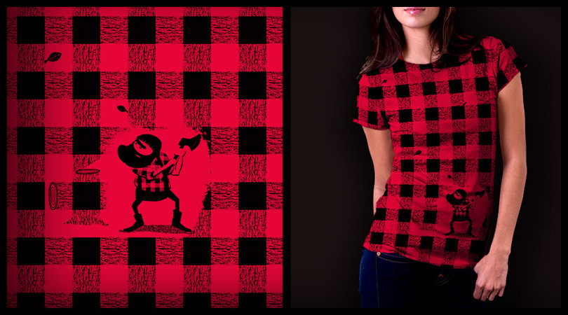 Almost a Lumberjack Shirt