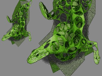 Three-headed snake by LeArchitecto