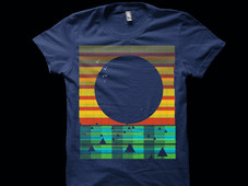 ASCII landscape 1 T-Shirt Design by