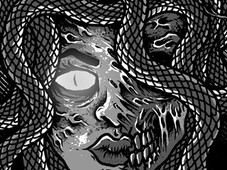 medusa T-Shirt Design by