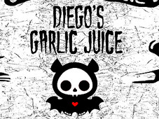 DIEGO'S GARLIC JUICE T-Shirt Design by