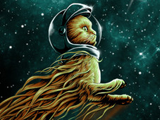 flight catsronaut T-Shirt Design by