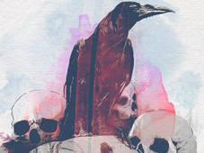 Vida e morte T-Shirt Design by