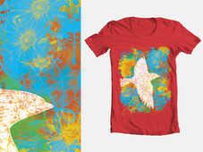 birdfly T-Shirt Design by