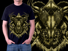deer diary T-Shirt Design by