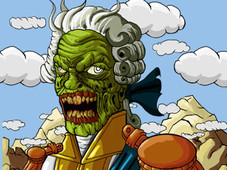 Fancy Zombie T-Shirt Design by