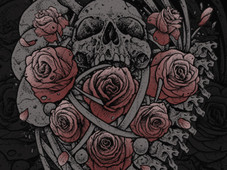 Bones Flowering T-Shirt Design by