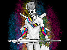 The Maker : CMYK T-Shirt Design by
