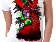 Eat Or Be Eaten 6690 T-Shirt Design by