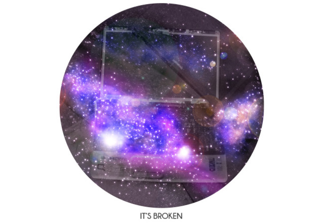 it's broken - universe - laptop