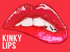 Kinky Lips T-Shirt Design by