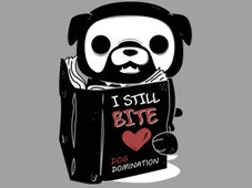 I Still Bite. Dog Domination T-Shirt Design by