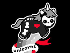 Unicorns for Life and Forever T-Shirt Design by