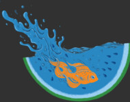 Watermelon Dive T-Shirt