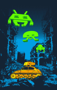 Invaders Must Die T-Shirt