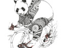 Panda and Follow Fish