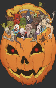 Halloween Monsters T-Shirt