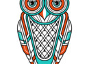 Art Deco Owl (Diurnal)