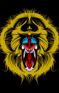 Big Mad Mandrill T-Shirt