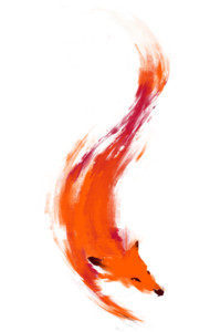 The Quick Orange-Red Fox T-Shirt