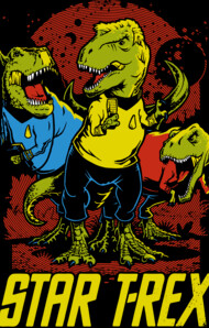 Star T-Rex T-Shirt