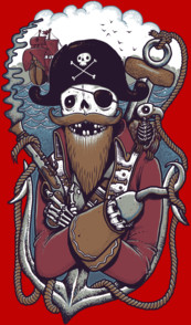 Mr Pirate T-Shirt
