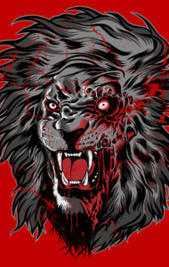 Zombie Lion II T-Shirt