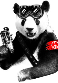 Panda Rebel T-Shirt