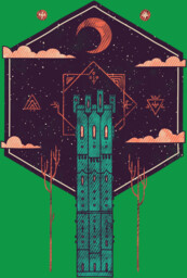 The Tower Azure T-Shirt