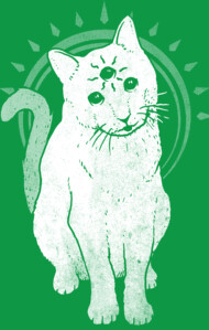 psychic kitty 2 T-Shirt