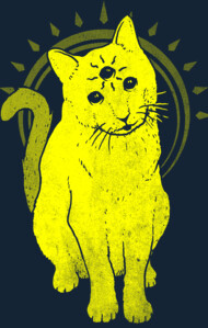 psychic kitty 3 T-Shirt