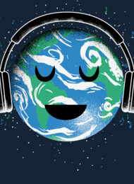 The whole earth loves music T-Shirt