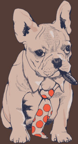 French Bulldog Boss T-Shirt