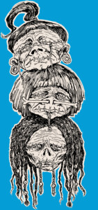 Shrunken Heads T-Shirt
