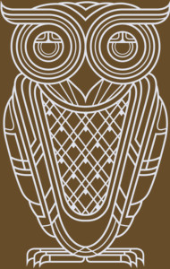 Art Deco Owl (Nocturnal) T-Shirt