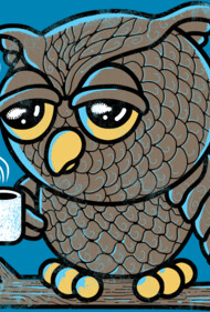 Owl I want is Coffee T-Shirt