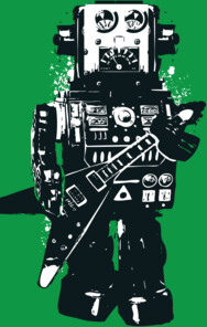 Robot Rocks T-Shirt