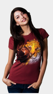 Tired of The Tiger Face! Women's