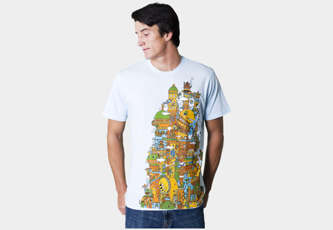 Giant City ! T-Shirt - Design By Humans