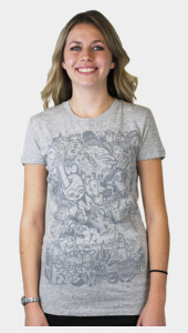 The Faded Doodle Women's