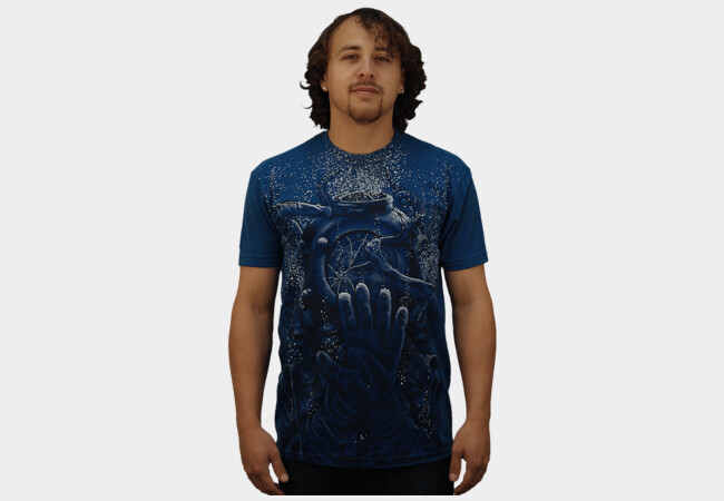 The Diver (Trapped) T-Shirt - Design By Humans