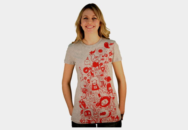 Limited Edition - Oodle Doodle T-Shirt - Design By Humans